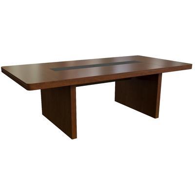 Стол для переговоров Kingston 28704 (темный орех, 2300x1200x750 мм)