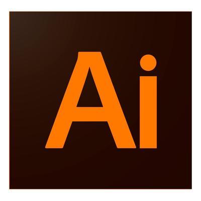 Программное обеспечение Illustrator CC for teams Multiple Platforms Multi European Languages Level 1 (1 - 9) Commercial Renewal