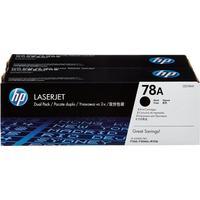 Картридж лазерный HP 78A CE278AF черный оригинальный (двойная упаковка)