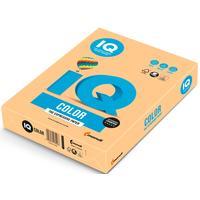 Бумага цветная для печати IQ Color золотистая медиум GO22 (А4, 160 г/кв.м, 250 листов)