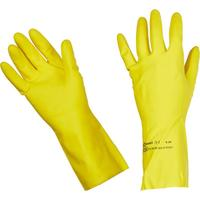 Перчатки латексные Vileda Professional Контракт желтые (размер 7.5-8, M, артикул производителя 101017)