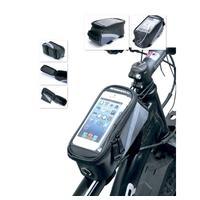 Сумка велосипедная Bradex 1.2 л черная/синяя