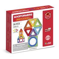 Конструктор магнитный Magformers 715014 Basic Plus 26 Set