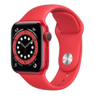Смарт-часы Apple Watch Series 6 40 мм красные (M00A3RU/A)