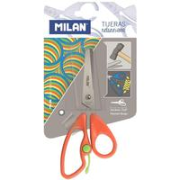 Ножницы детские Milan Return красные (144 мм, с фиксатором)