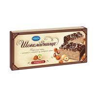 Торт вафельный Коломенское Шоколадница с миндалем 270 г