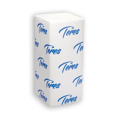 Полотенца бумажные листовые Терес Стандарт V-сложения 1-слойные 20 пачек по 200 листов (артикул производителя Т-0226)