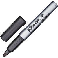 Маркер перманентный Комус PY2304 черный (толщина линии 1-4 мм) круглый наконечник