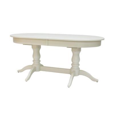 Стол раздвижной Leset Каролина 1P (слоновая кость, 2000x840x760 мм)