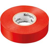 Изолента Navigator ПВХ 19 мм x 20 м красная