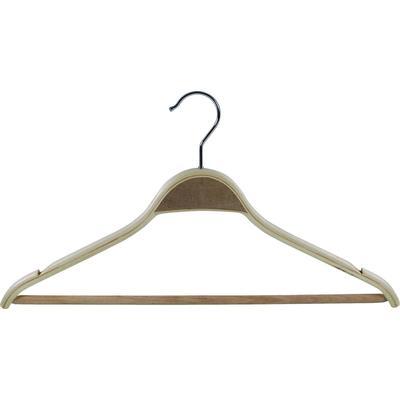 Вешалка-плечики деревянная с перекладиной 7765 (размер 48-50)