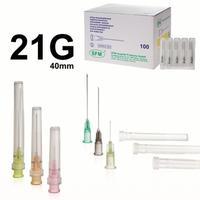 Игла инъекционнаяSFM 21G (0.8x40 мм, 100 штук в упаковке)