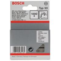 Скобы к степлеру Bosch плоские 0.74х11.4х10 мм (1000 штук, артикул производителя 2609200216)