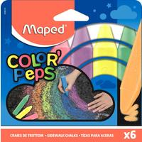 Мел Maped Color'peps цветной 6 штук
