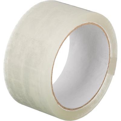 Клейкая лента упаковочная 48 мм x 55 м 45 мкм прозрачная
