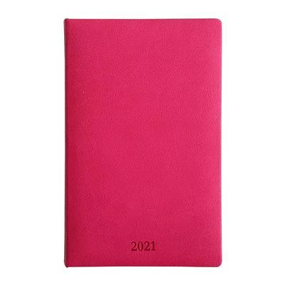 Еженедельник датированный 2021 год InFolio Vienna искусственная кожа A5 64 листа розовый (130x205 мм)