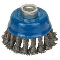 Щетка чашечная витая проволока сталь 75 мм для УШМ Bosch (1608622029)