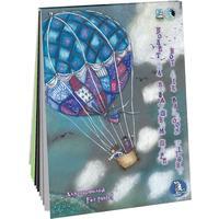 Планшет для рисования пастелью Лилия Холдинг Страна чудес Полет на воздушном шаре (А4, 12 листов, 3 цвета)