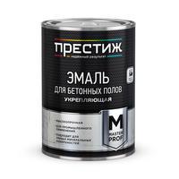 Эмаль для бетонных полов Престиж серая 10 кг