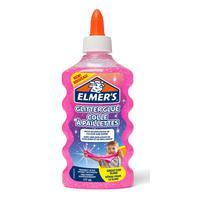 Клей для слаймов Elmers с розовыми блестками 177 мл
