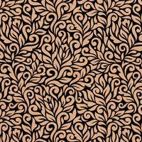 Бумага упаковочная Miland Орнамент коричневая/черная (10 листов в  рулоне, 70x100 см)