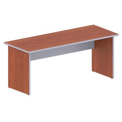 Стол письменный Easy Business (яблоня/серый, 1800х700х747 мм)
