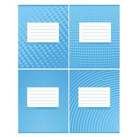 Тетрадь общая Проф-пресс А5 36 листов в клетку на скрепке (обложка в ассортименте)
