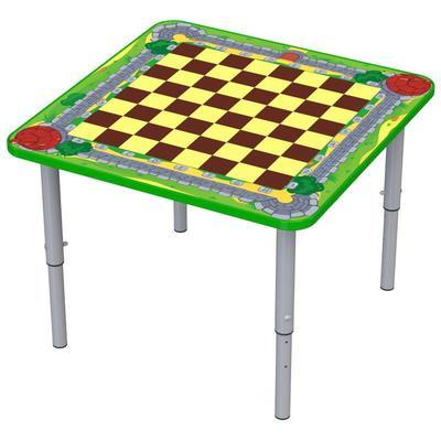 Стол детский М-110-1 шахматный регулируемый (разноцветный)