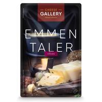 Сыр Сheese Gallery Emmentaler нарезка 45% 150 г