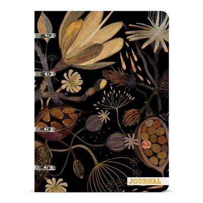 Тетрадь на кольцах Bruno Visconti Ночные цветы А5 80 листов в линейку