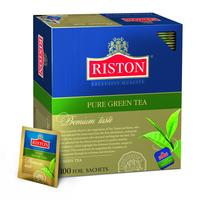 Чай Riston Premium taste зеленый 100 пакетиков