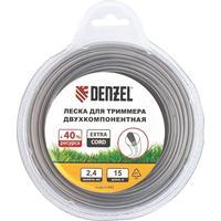 Леска для триммера Denzel Extra Cord круглая 2.4 мм х 15 м (96180)