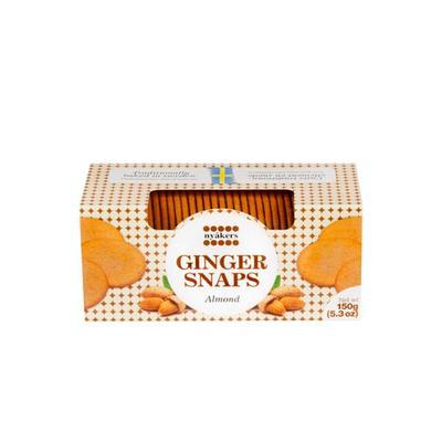 Печенье песочное Nyakers имбирное со вкусом миндаля 150 г