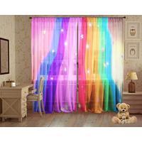 Тюль Самоцвет 294х267 см разноцветный