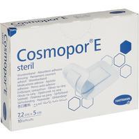 Пластырь-повязка Cosmopor E стерильная послеоперационная 7.2х5 см (10 штук в упаковке)