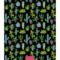 Тетрадь общая Апплика Веселые кактусы А5 48 листов в клетку на скрепке