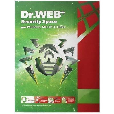 Программное обеспечение Dr.Web Security Space 36 мес. 4(LHW-BK-36M-4-B3)