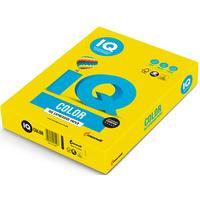 Бумага цветная для печати IQ Color желтая неон NEOGB (А4, 80 г/кв.м, , 500 листов)