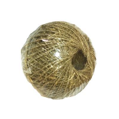 Шпагат льняной 100 м (клубок/евробобинка)