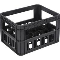Ящик (лоток) для бутылок из ПНД 412х332х280 мм черный