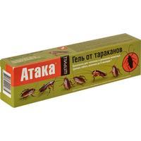 Средство от насекомых Атака От тараканов гель 20 мл