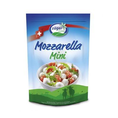 Сыр Zuger Mozzarella mini 45% 150 г