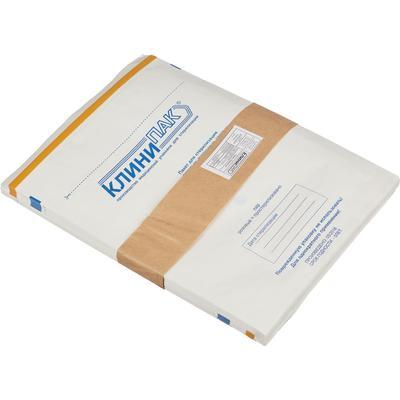 Пакет для стерилизации Клинипак для паровой и воздушной стерилизации бумажный 250x320 мм (100 штук в упаковку)