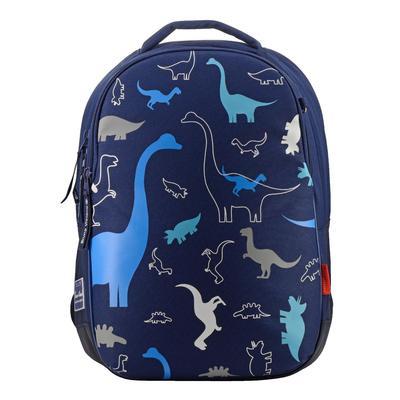 Рюкзак эргономичный Динозаврики синий