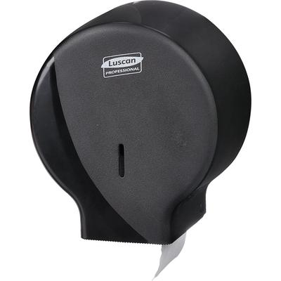 Диспенсер для туалетной бумаги рул Luscan Professional мини черный R-1310B