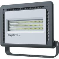 Прожектор светодиодный Navigator 70 Вт 6500 К IP65