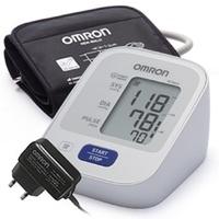 Тонометр Omron M2 Basic автоматический (с адаптером и универсальной манжетой)
