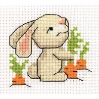 Набор для вышивания Klart панно Зайчишка 9,5x8,5см