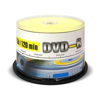 Диск DVD-R Mirex 4,7 GB 16x (50 штук в упаковке)