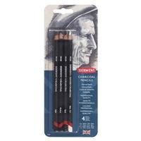 Набор карандашей угольных Charcoal 4 штуки блистер